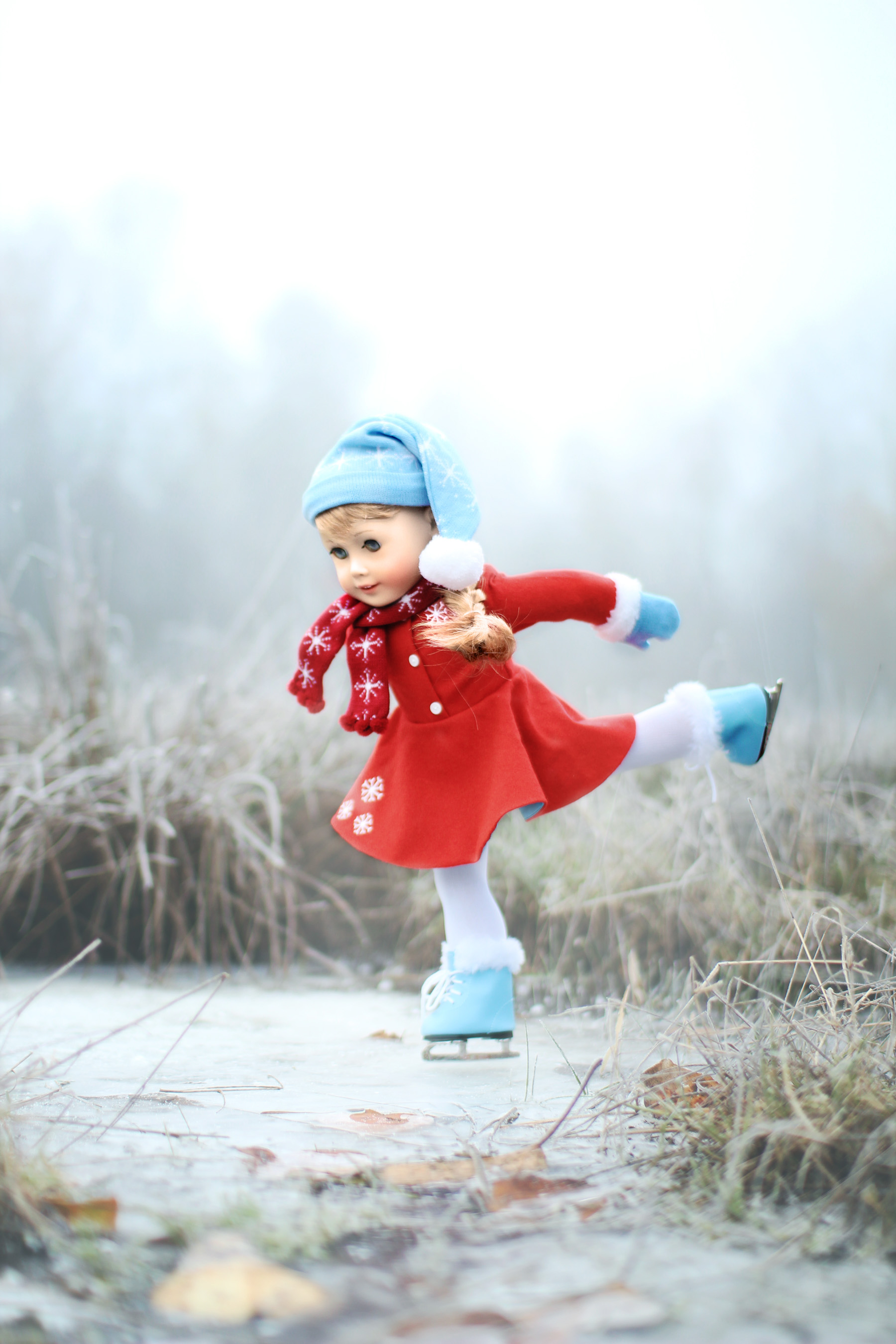 Winter American Girl Doll | Kelly in the City