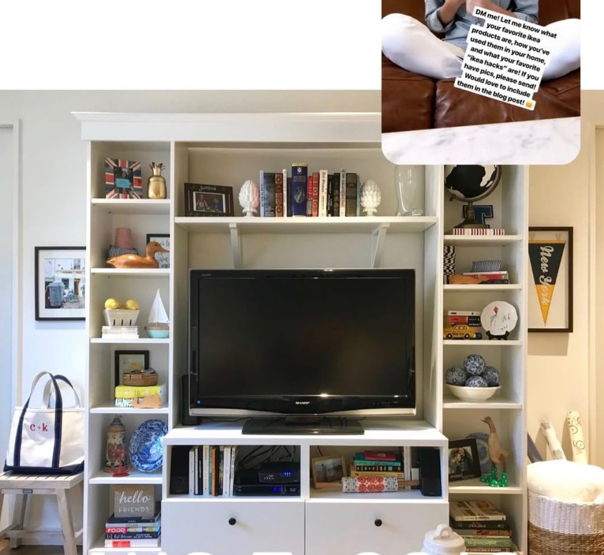 Billy Bookcase Built-Ins ikea