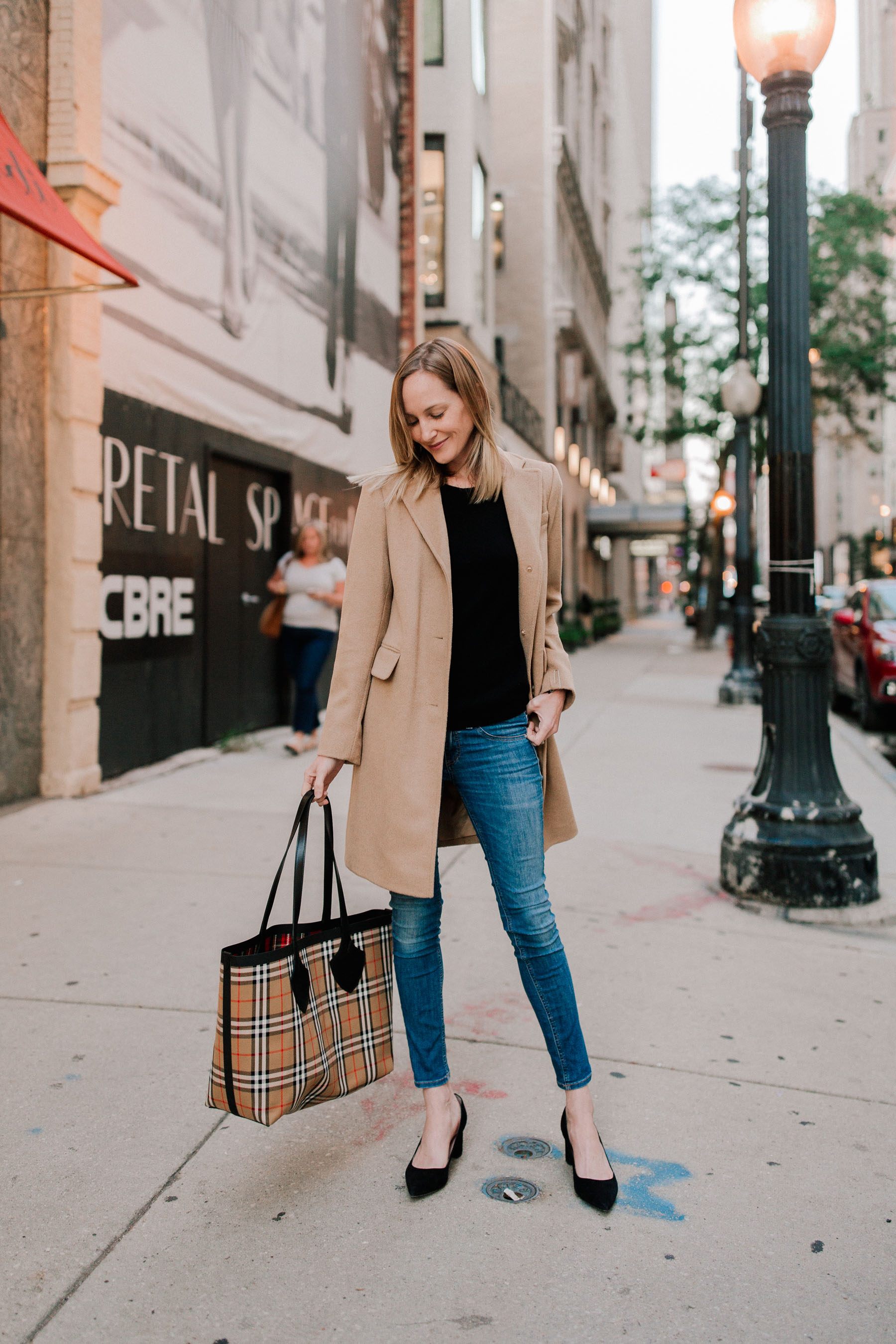 The First Fall Outfit Post + Rag & Bone Jeans | Kelly in the City