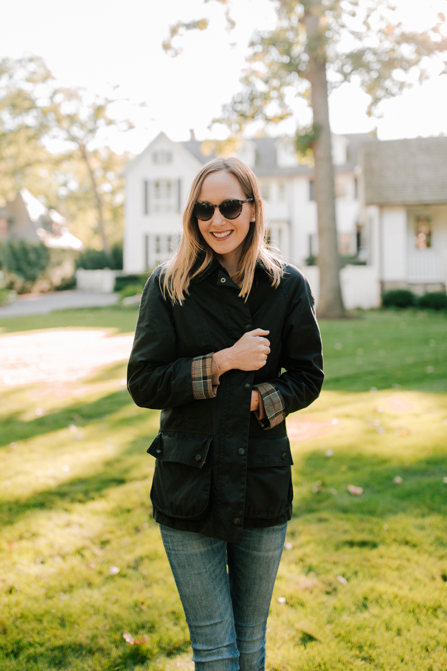 Barbour Jacket  - Kelly in the City