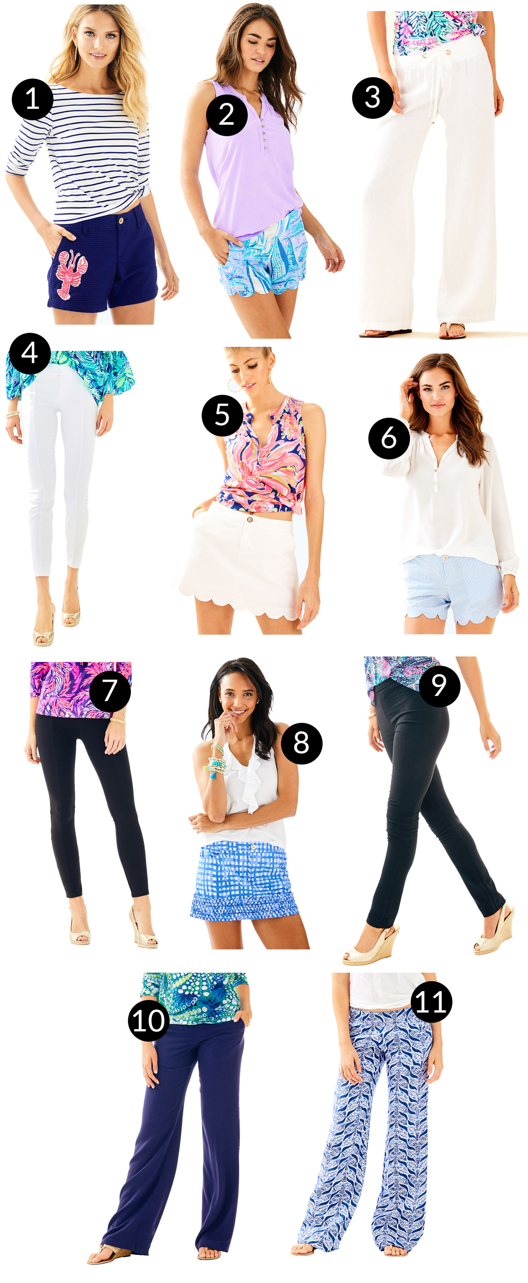 Lilly Pulitzer After Party Sale - Bottoms
