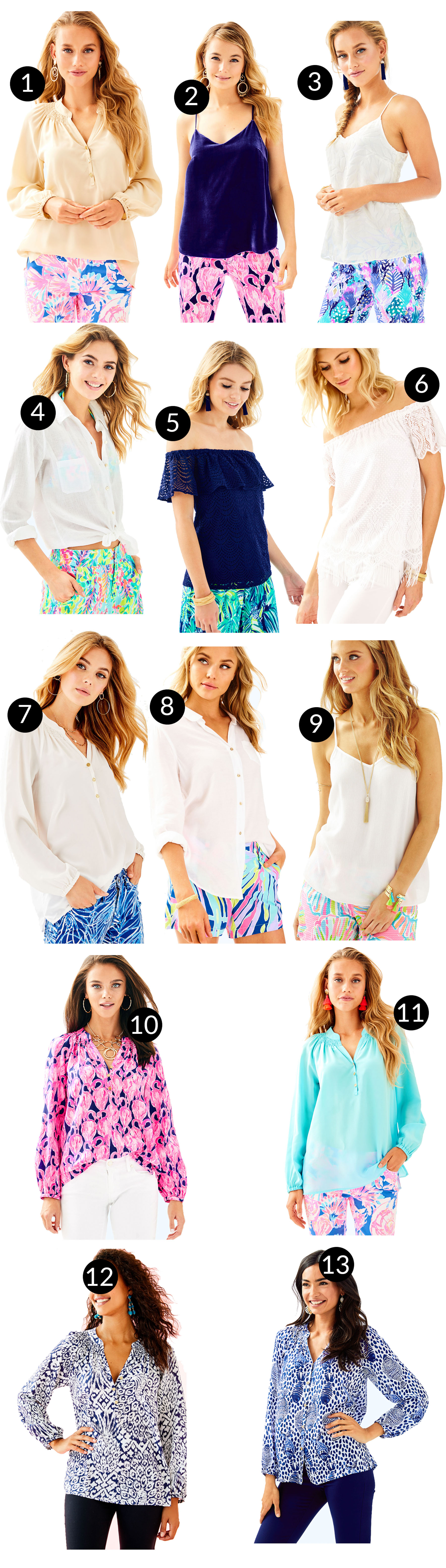 Lilly Pulitzer After Party Sale - tops