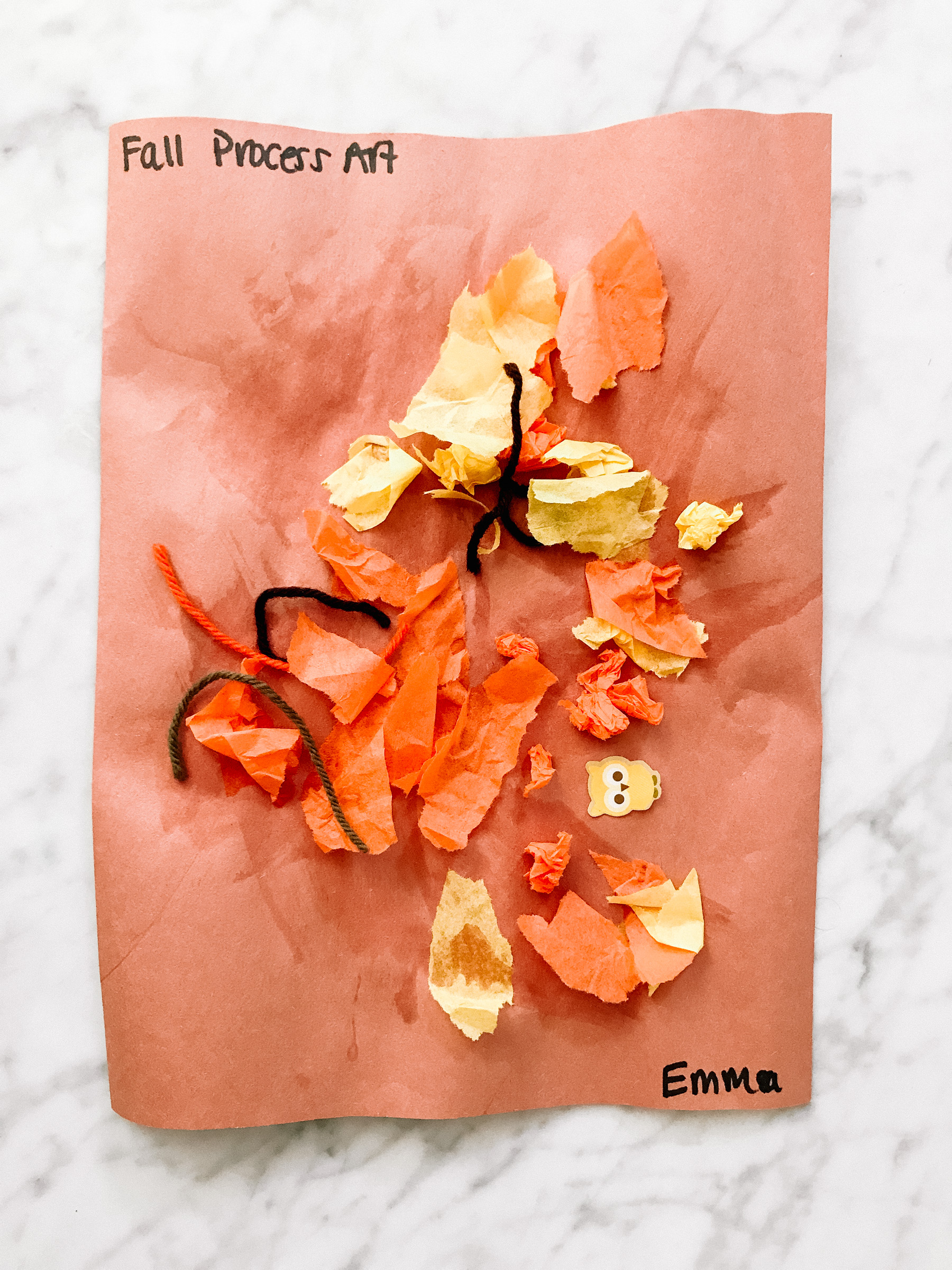 fall art - emma