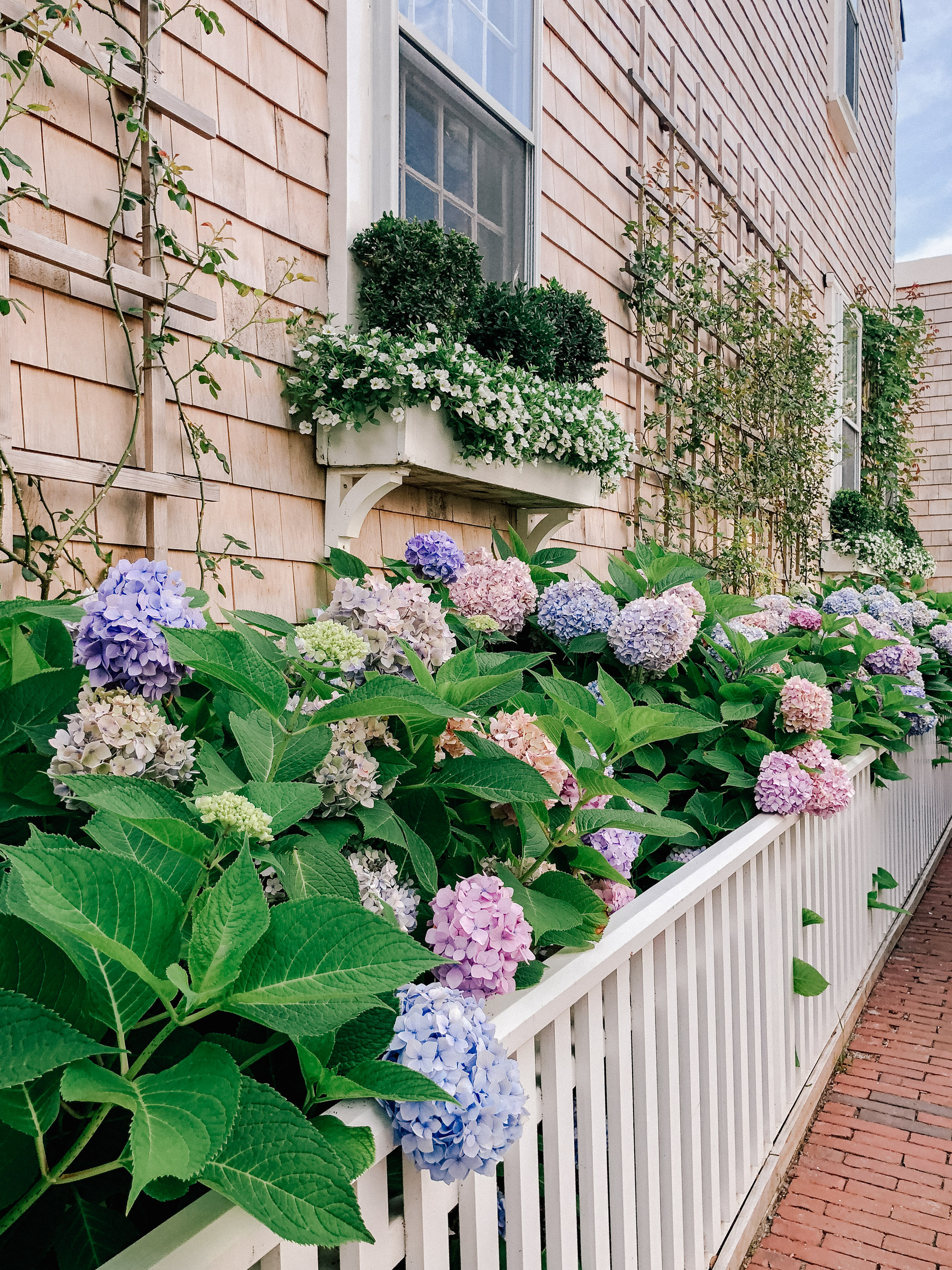 Nantucket House Tour - Flowers