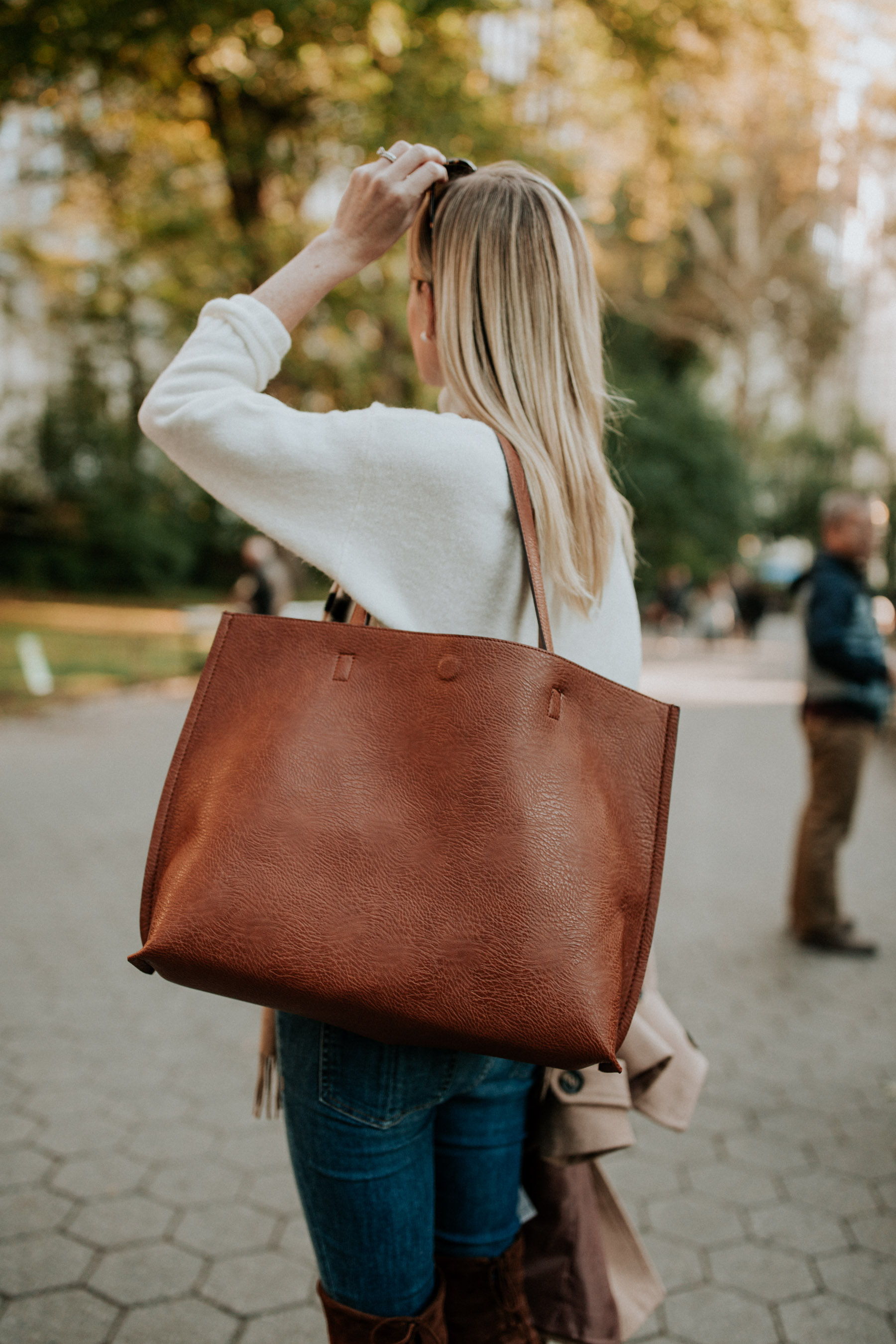 $49 Faux Leather Tote