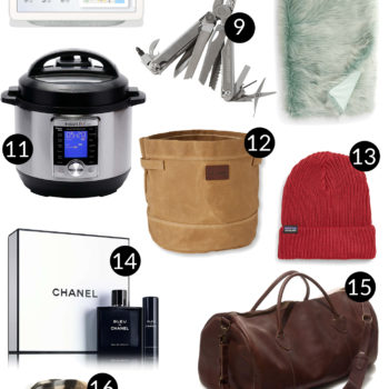 For Him: Mitch's 4-Part Gift Guide + $100 Giveaway!