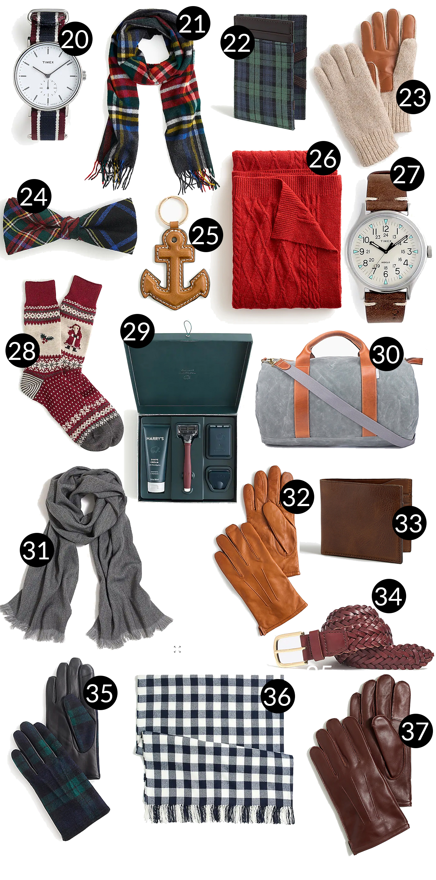 Mens Holiday Gift Guide - Accessories