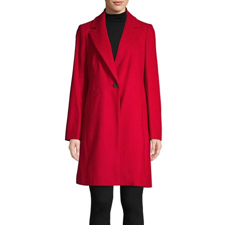 Lord & Taylor via Walmart: Red Coat