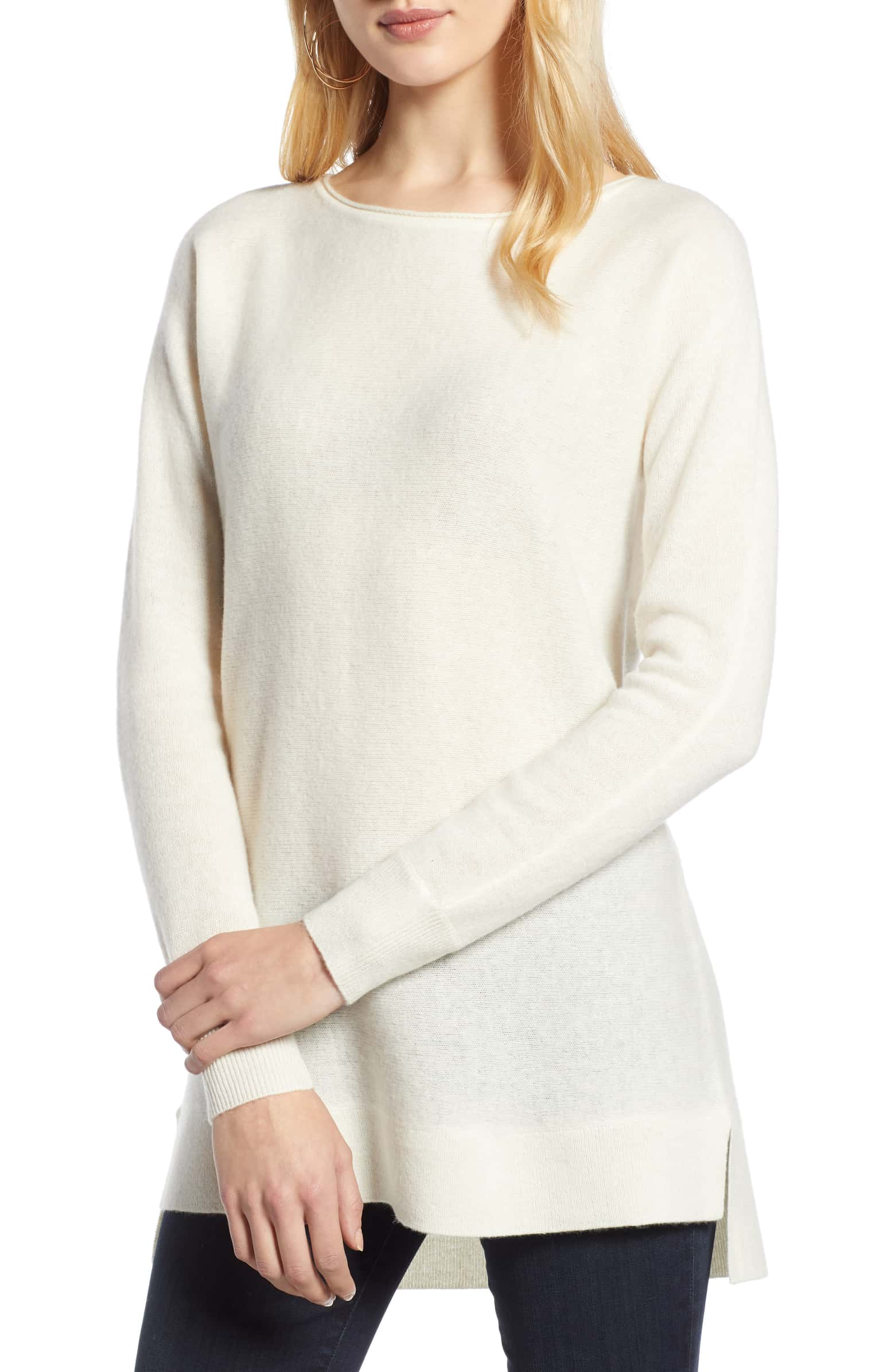 Nordstrom: Cashmere Tunic Sweater