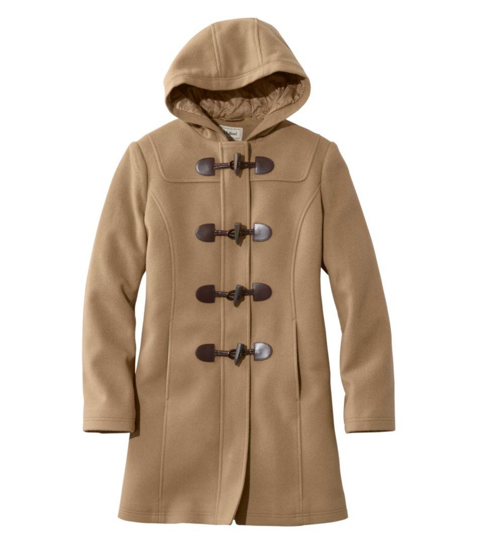 L.L.Bean: Lambswool Duffle Coat
