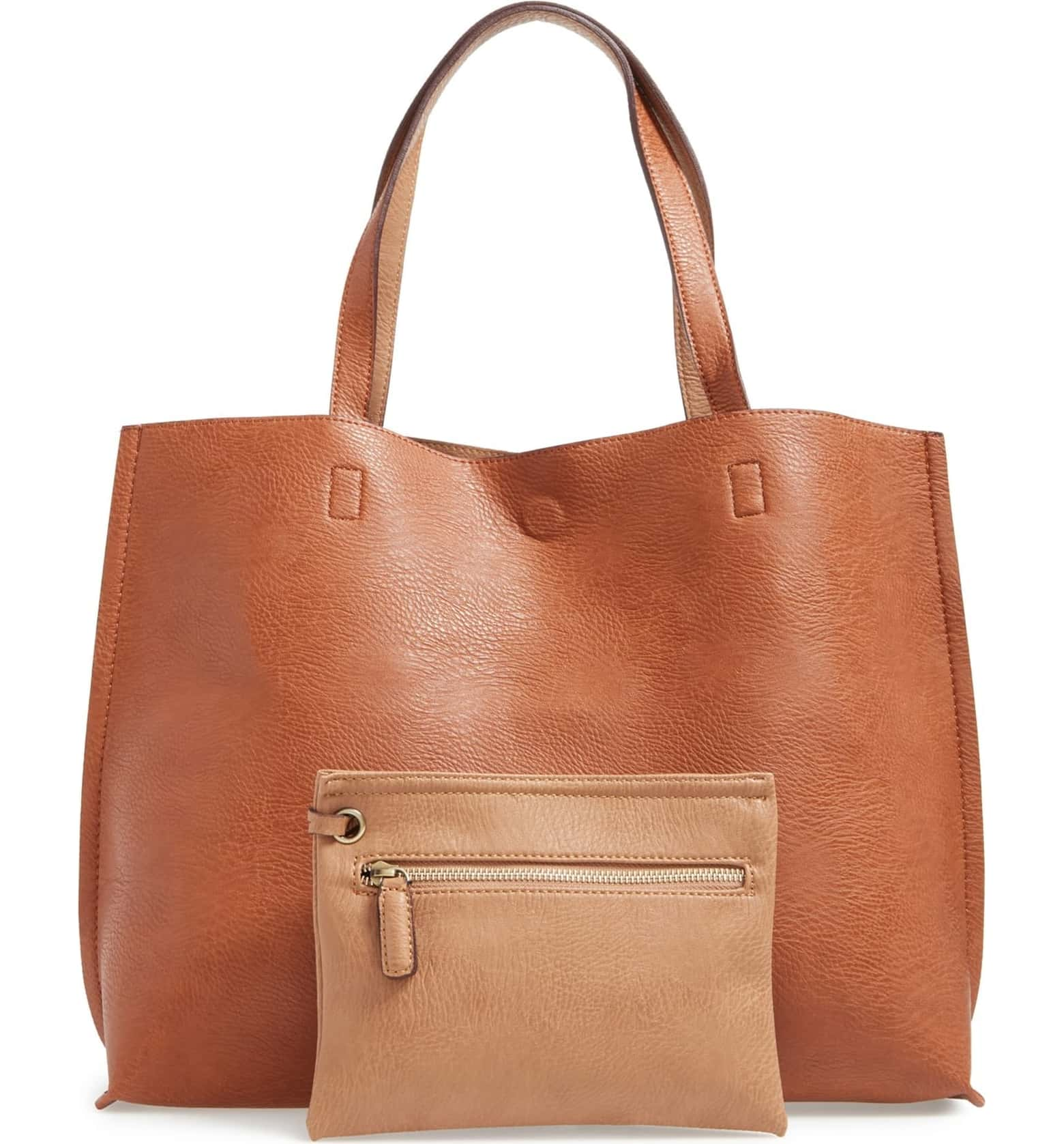 Nordstrom: Faux Leather Tote