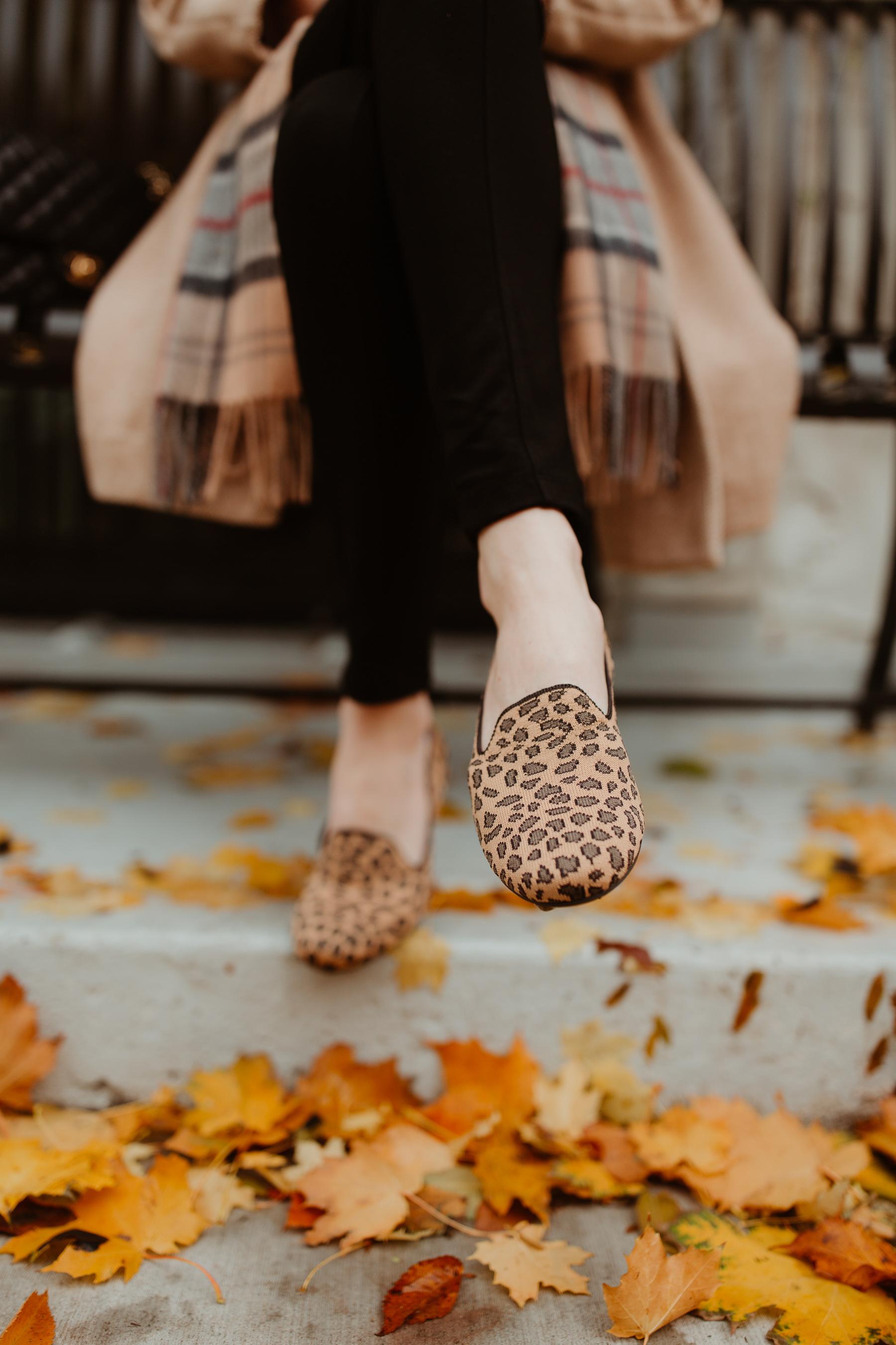 Rothy's shoes & Kelly Larkin