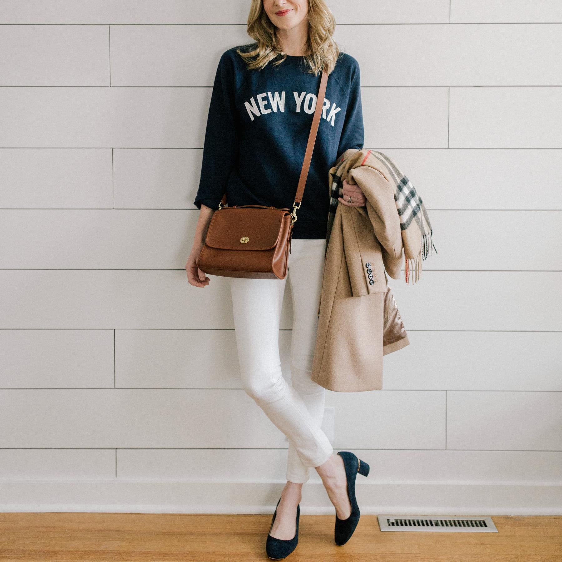 """New York"" Sweatshirt"