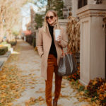 suede leggings - kelly in the city