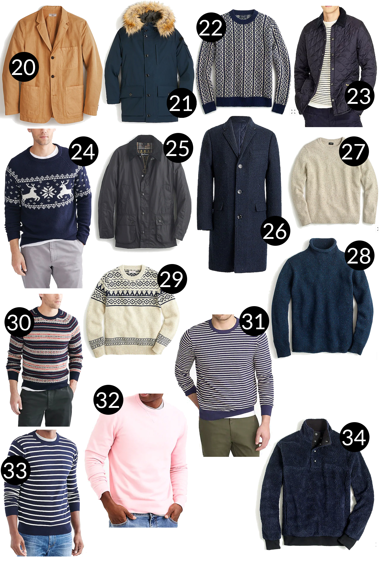 Mens Holiday Gift Guide - Outerwear