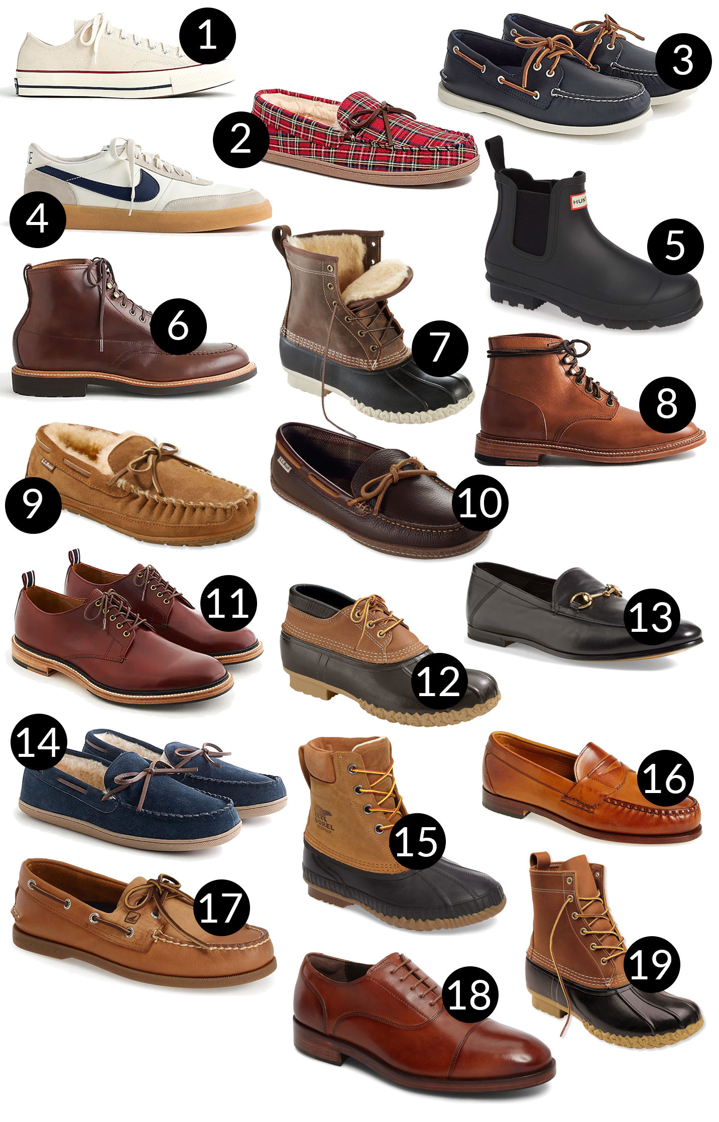 Mens Holiday Gift Guide - Shoes