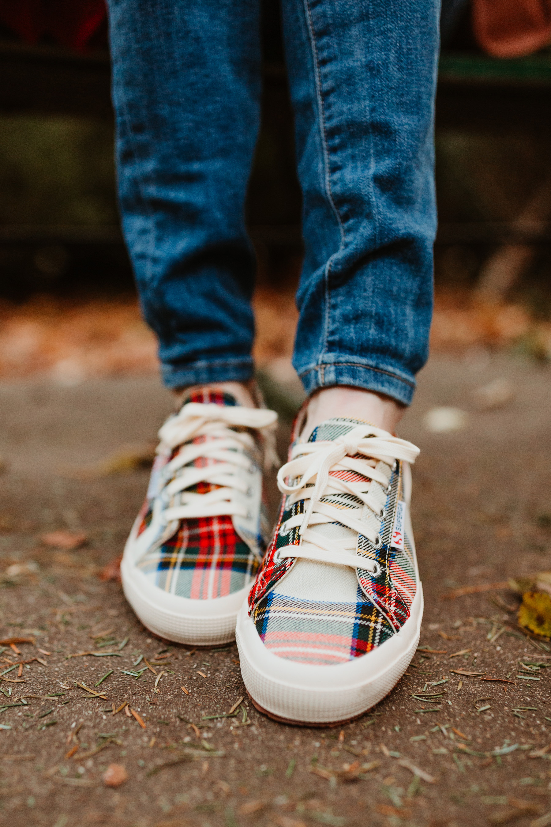 Tartan Sneakers