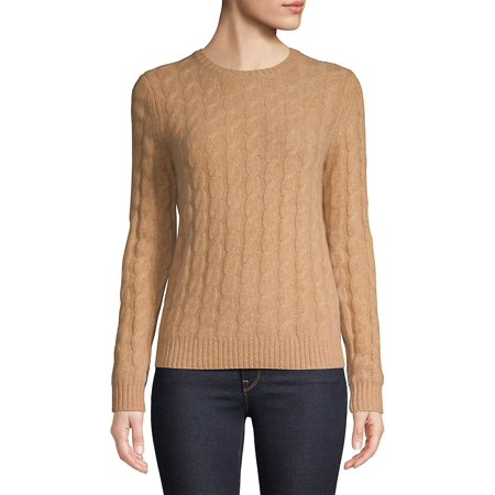 Lord & Taylor via Walmart: Cashmere Cable-Knit Sweater