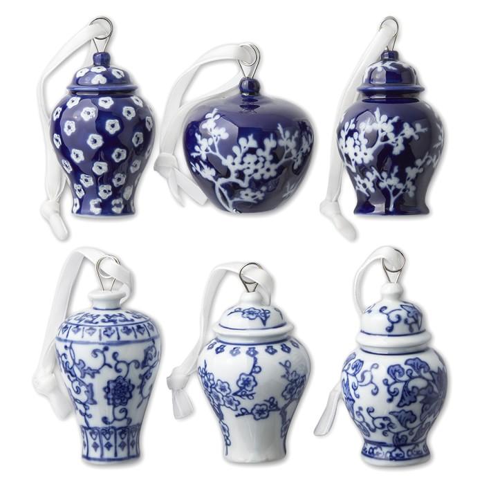 Williams Sonoma: Ginger Jar Ornaments