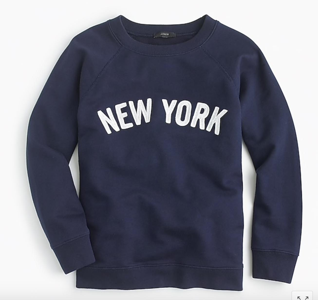 "J.Crew: ""New York"" Sweatshirt"