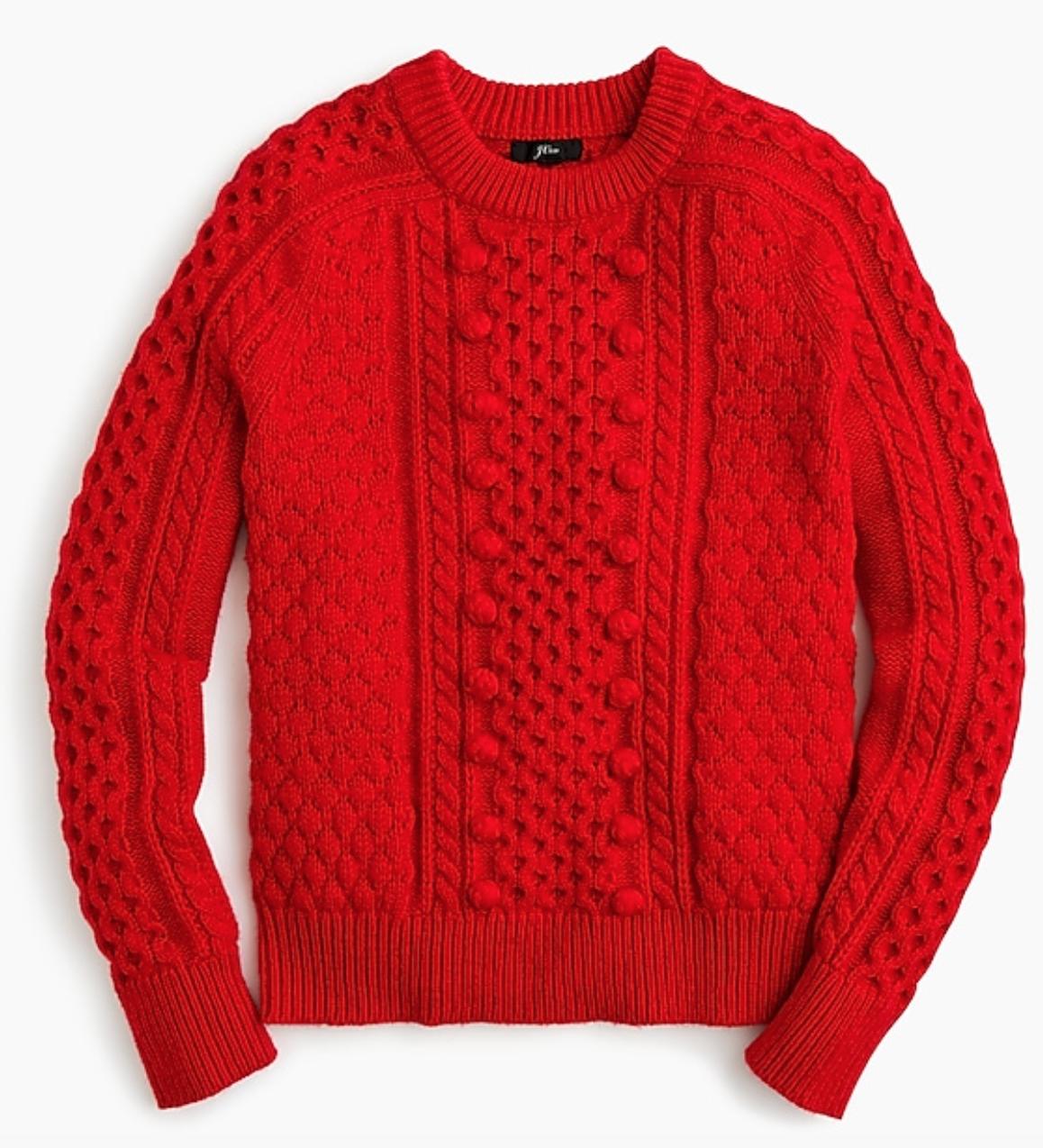 J.Crew: Popcorn Sweater