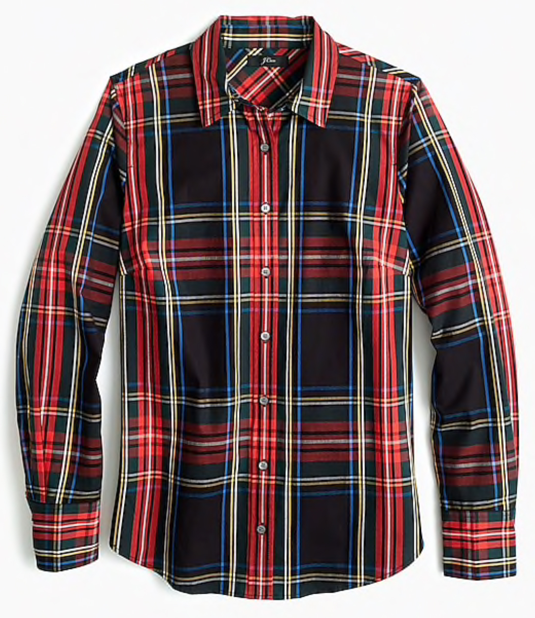 J.Crew: Stuart Tartan Perfect Shirt
