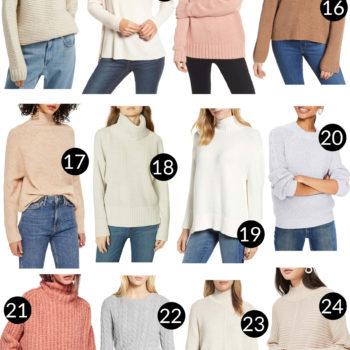 36 Cozy Sweaters