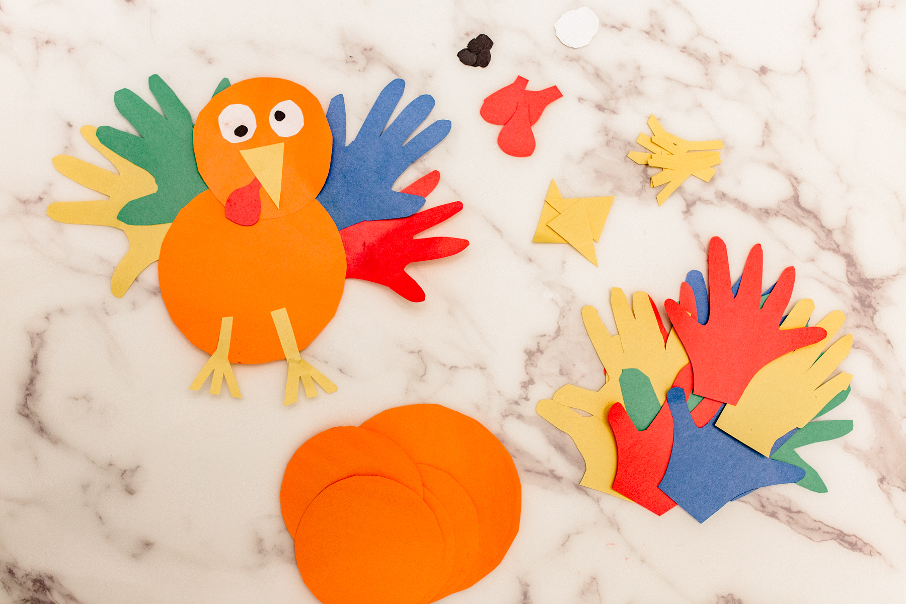 8. Provide kids with table activities