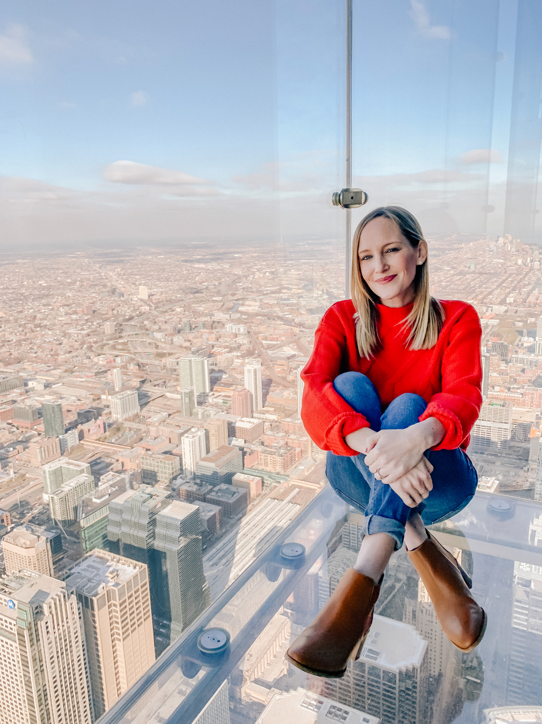 Kelly in the City - Willis Tower Skydeck