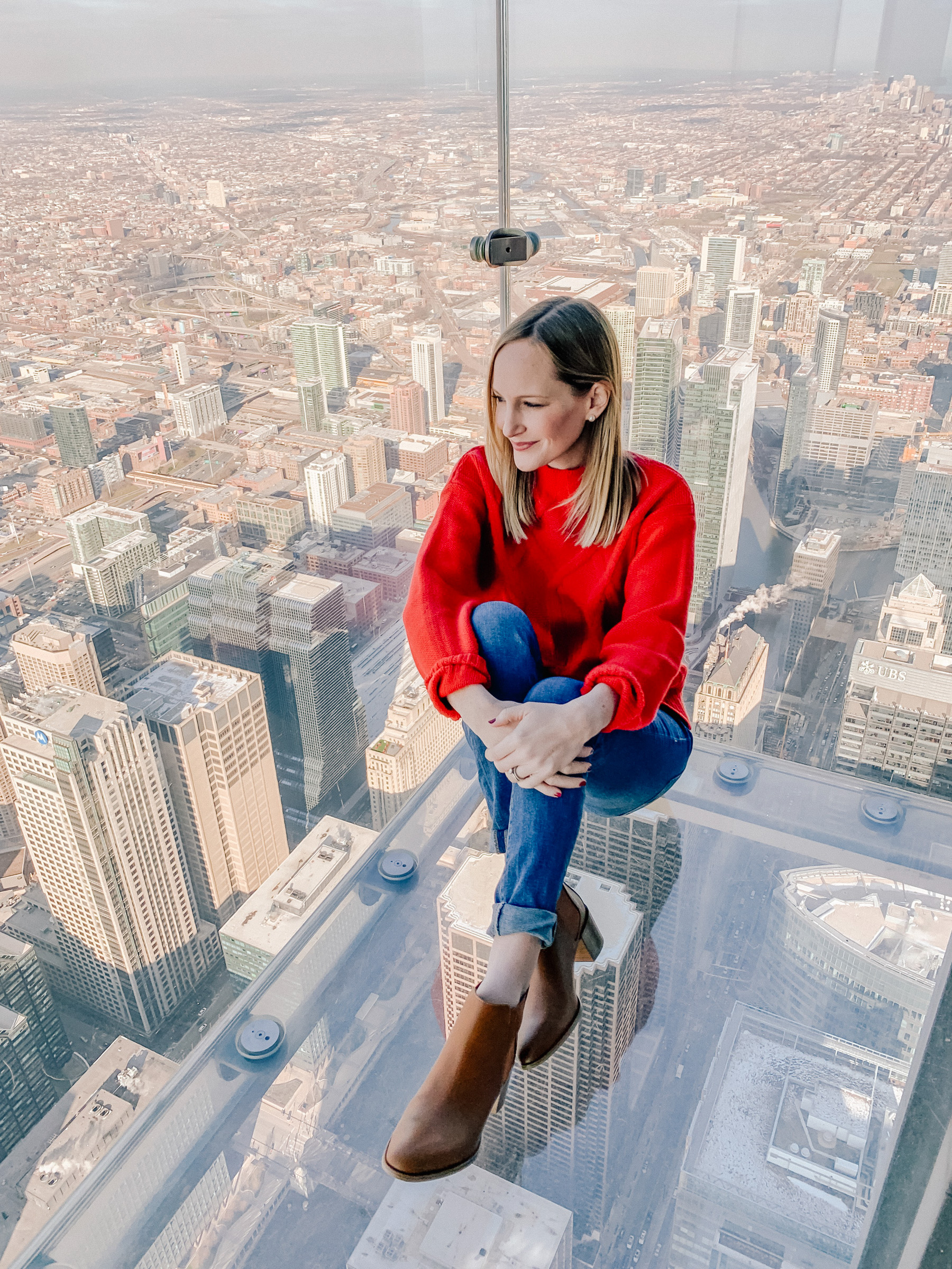 Kelly Larkin - Willis Tower Skydeck