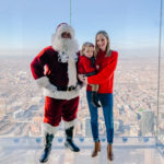 Meeting Santa on the Willis Tower Skydeck