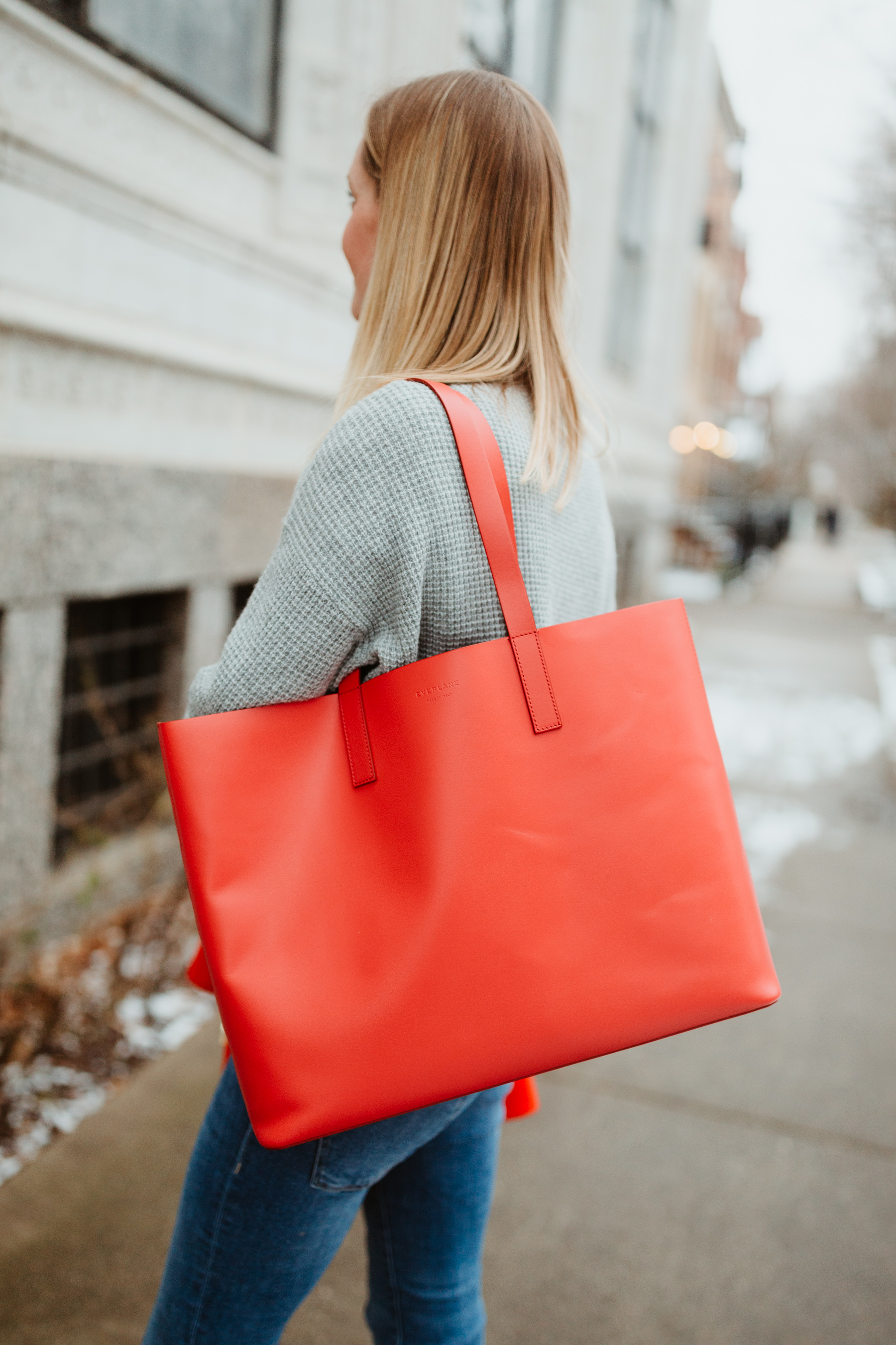 Day Market Leather Tote