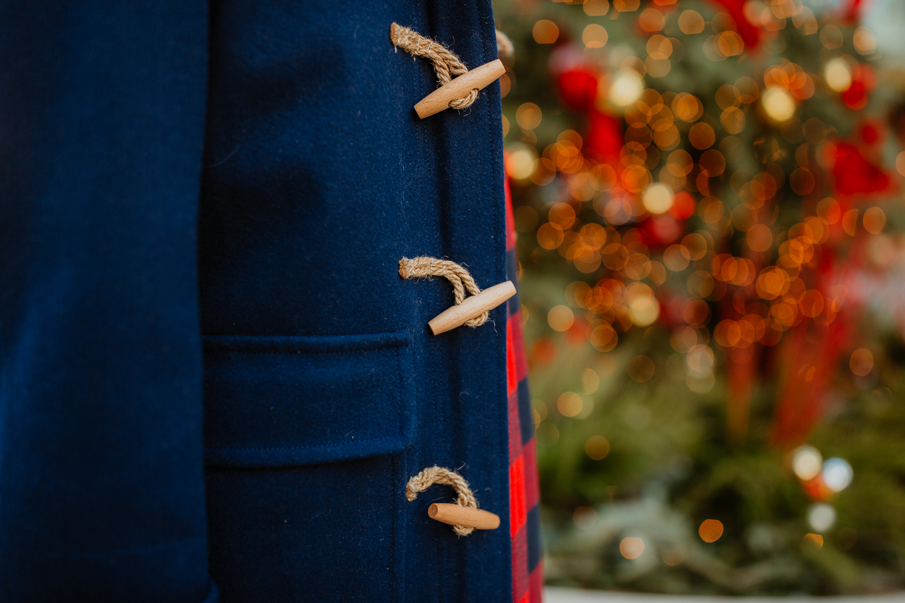 Navy Duffle Coat(On sale!)