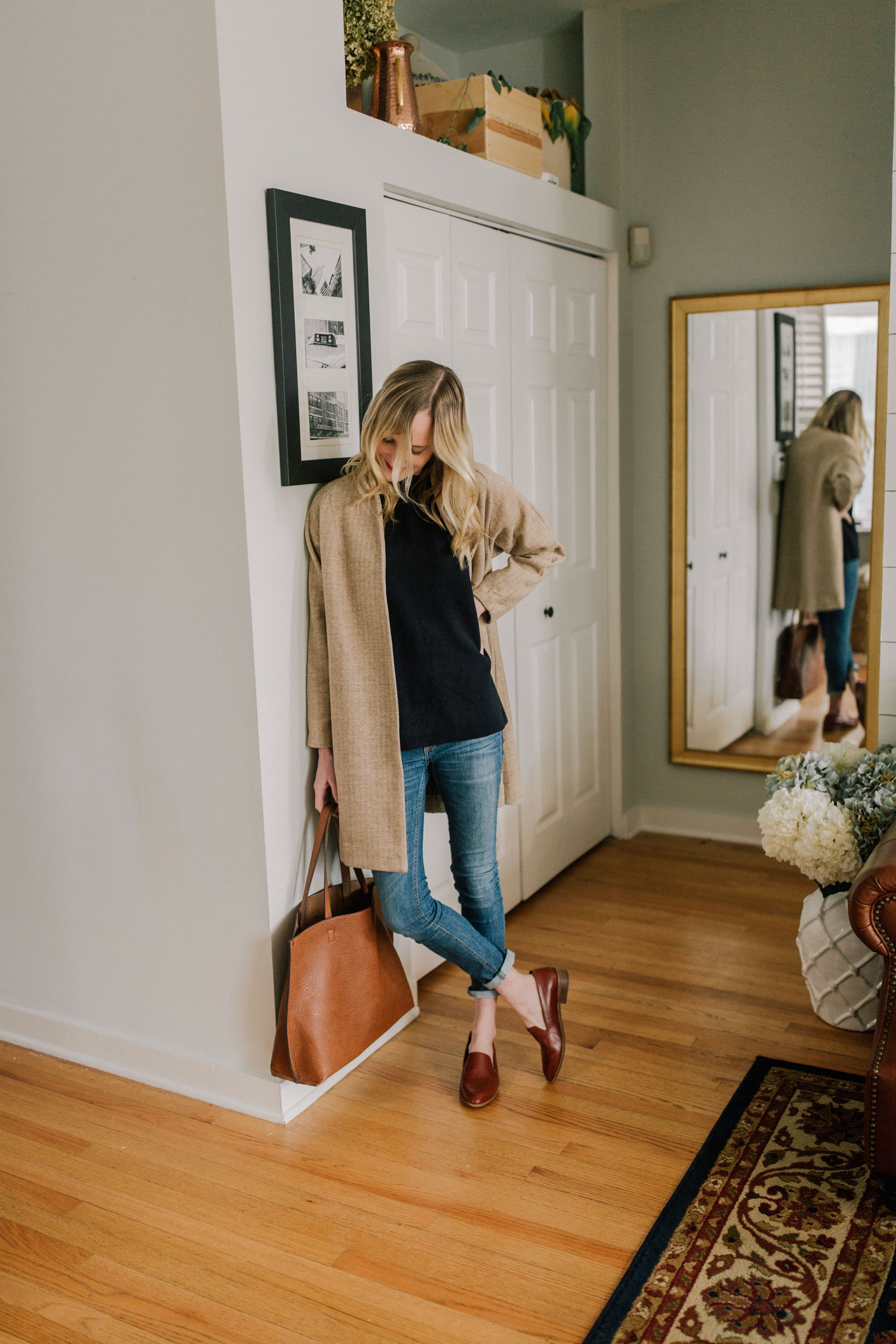 The Best Loafers and The Famous Bow Back Sweater