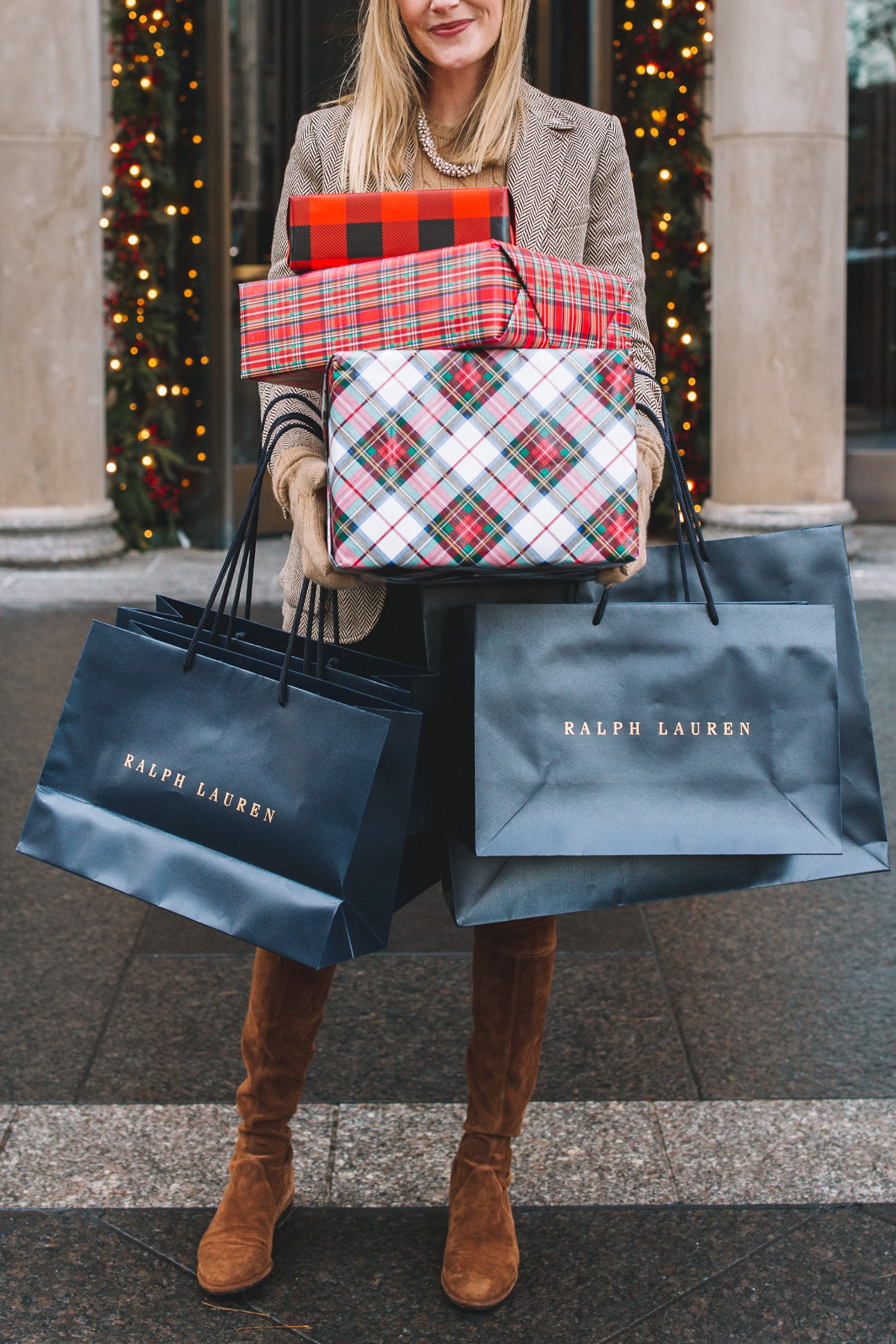 Ralph Lauren Xmas Shopping
