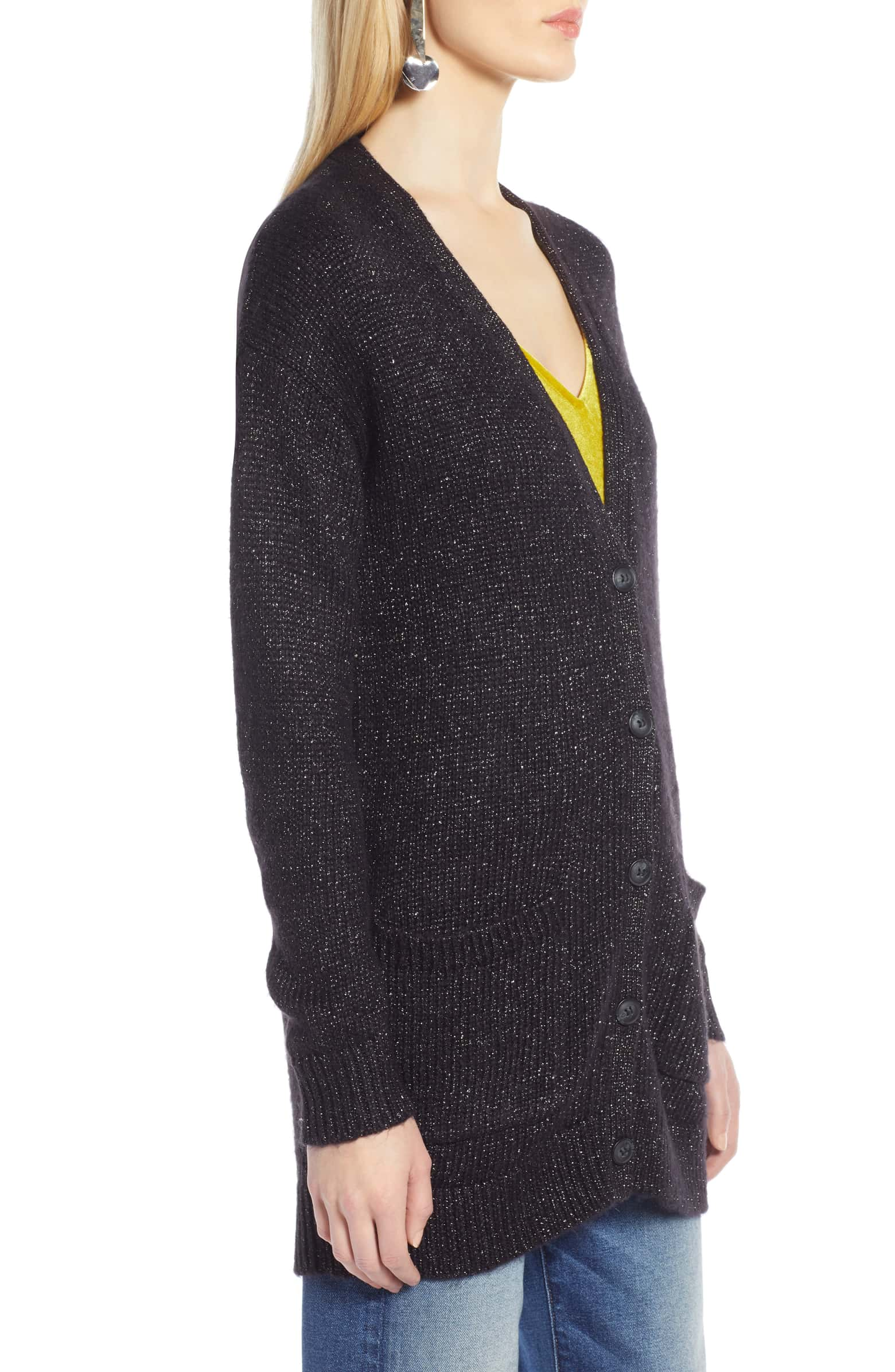 (Brand New NWOT -- Sample) Halogen Sparkle Cardigan, Size XS