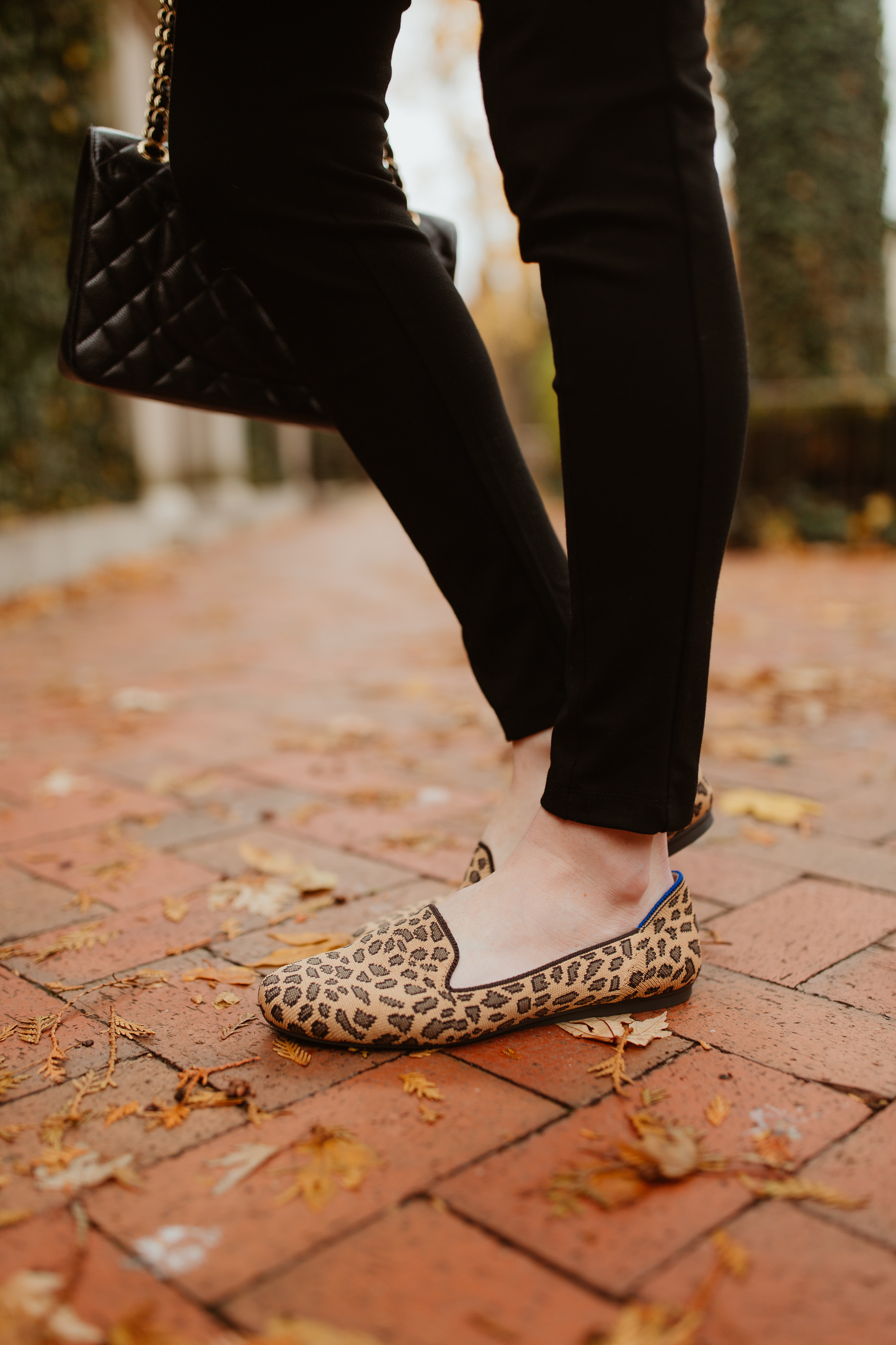 Rothy's Pointed Leopard Flat - Kelly in the City