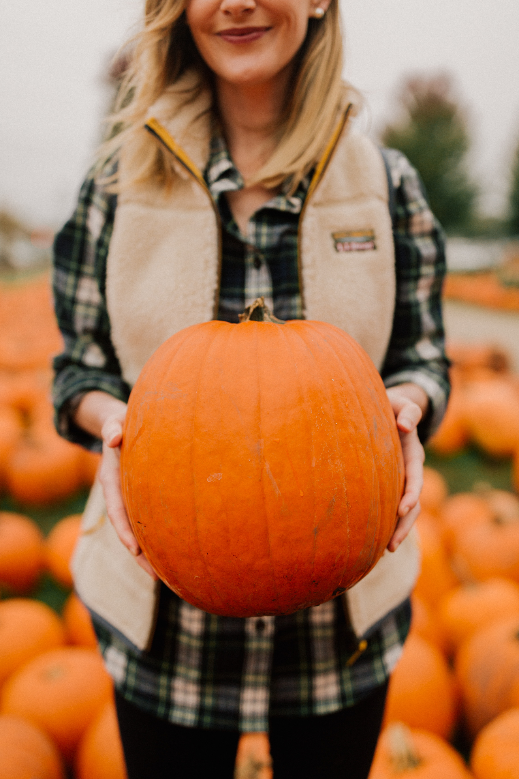 My Most-Worn Fall Outfit and Pumpkin Picking with the Larkins