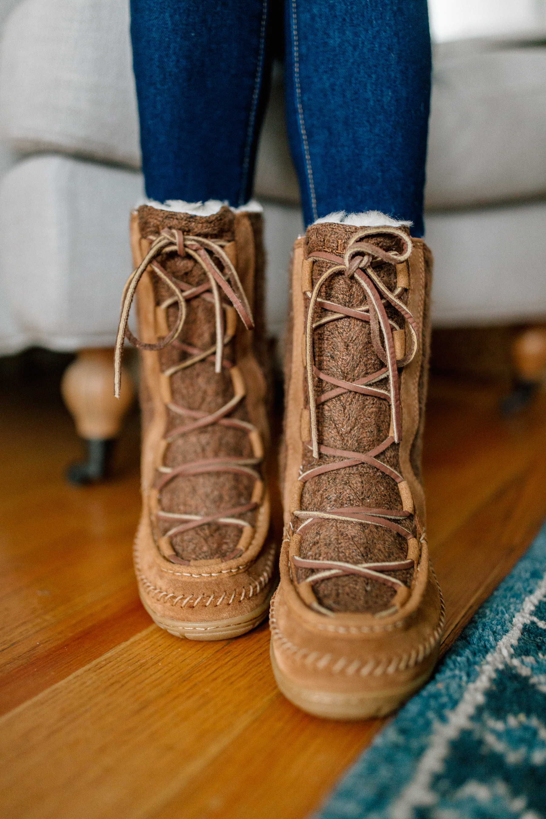 L.L. Bean Wicked Good Lodge Boots (Also available in leather.