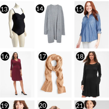 30-Piece Maternity Capsule Wardrobe