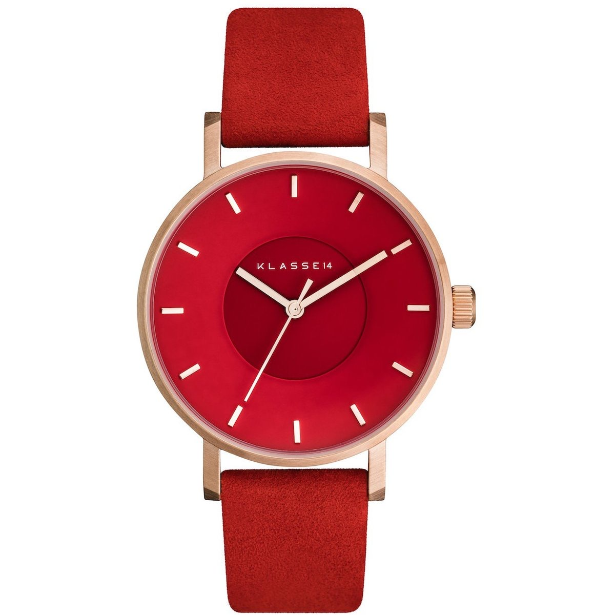 Red KLASSE14 Watch