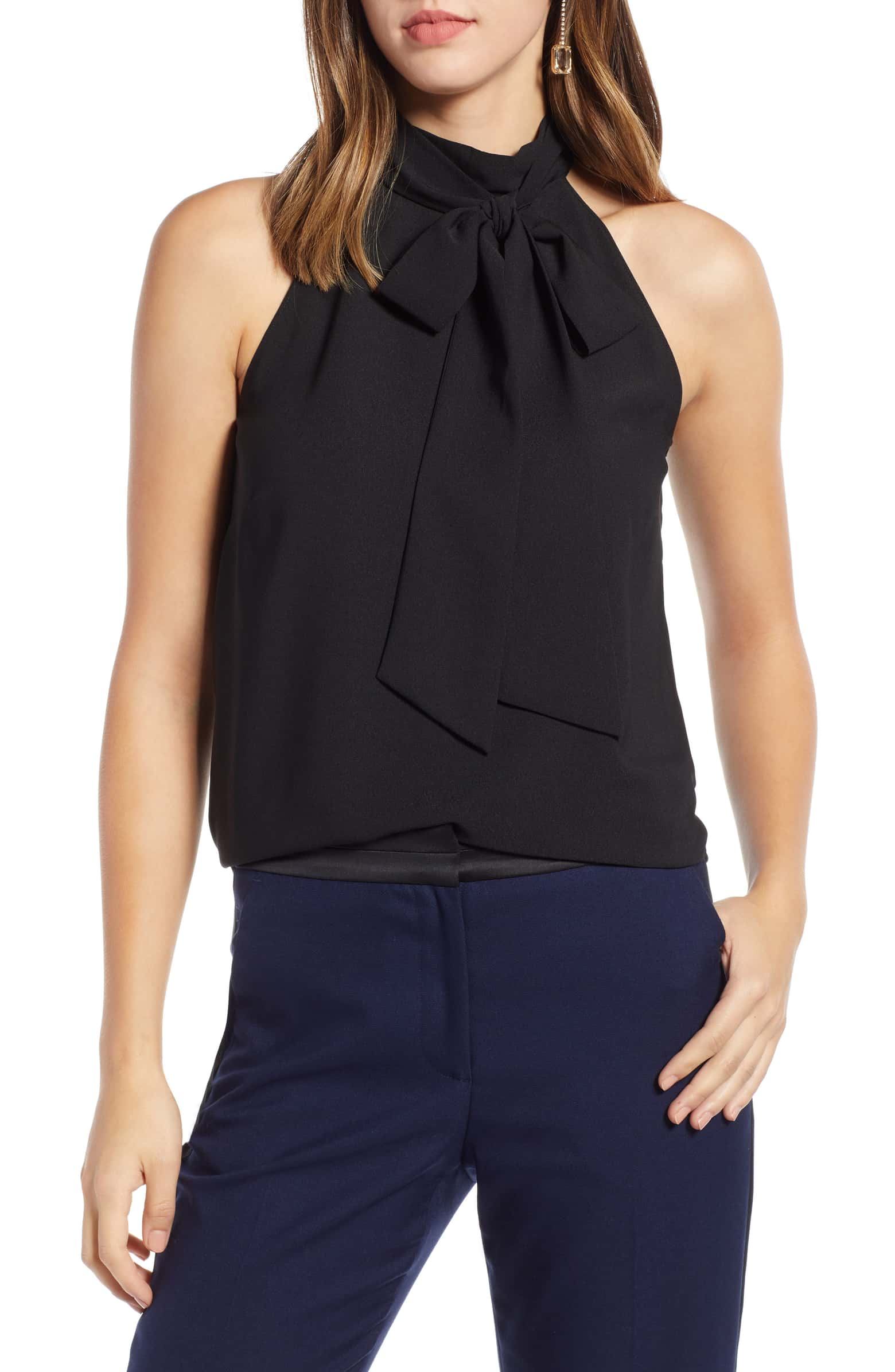 (Brand new -- Sample) Nordstrom 1901 Bow Top, Size Small