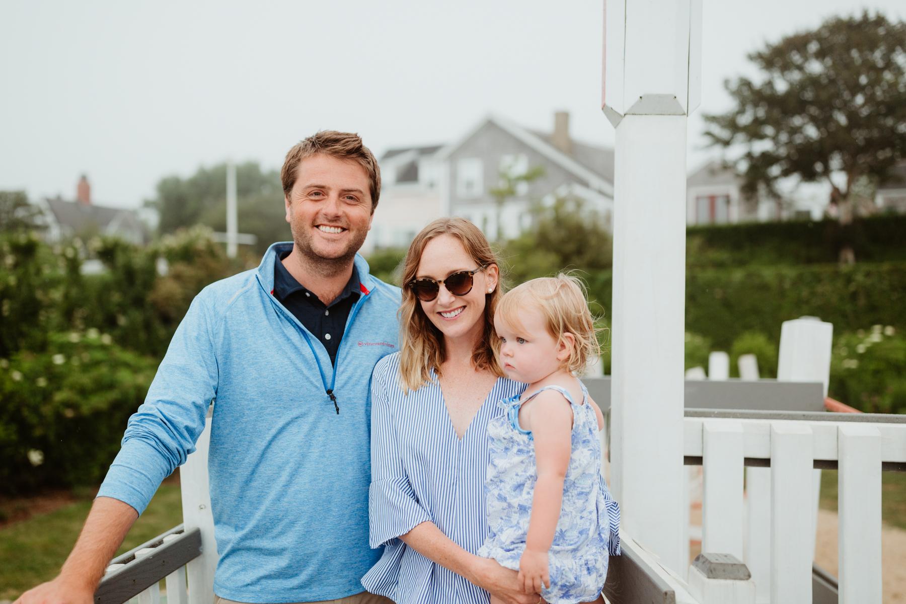 Striped Swing Top & Larkin Family