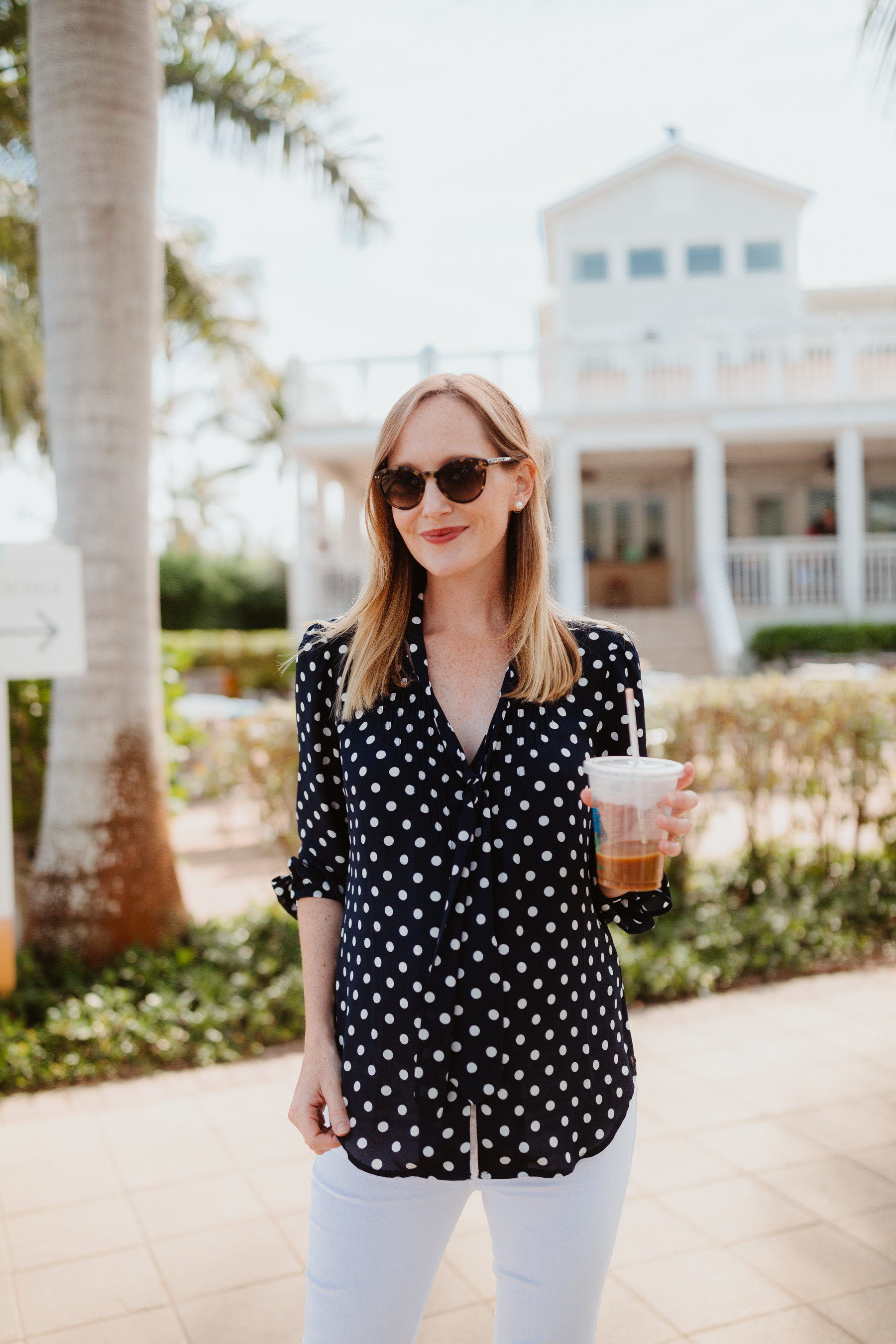 The Best Preppy Navy Polka Dot Finds Kelly In The City
