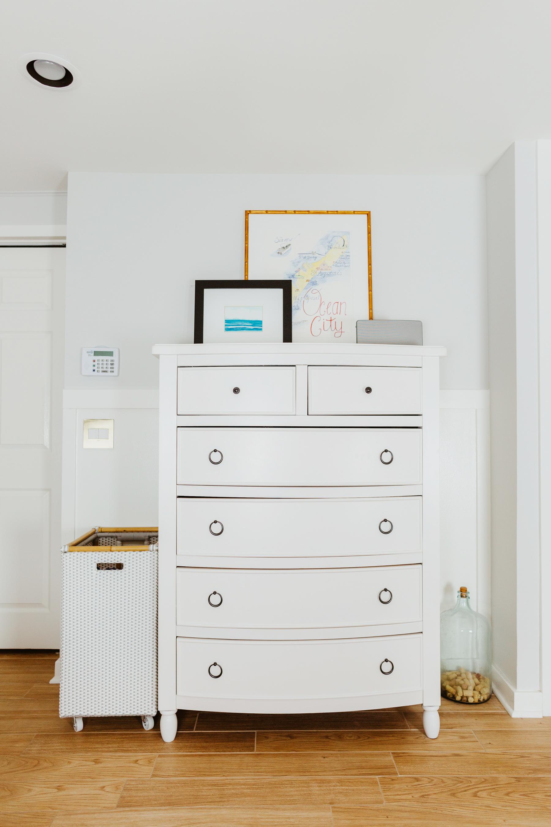 Mitch's dresser