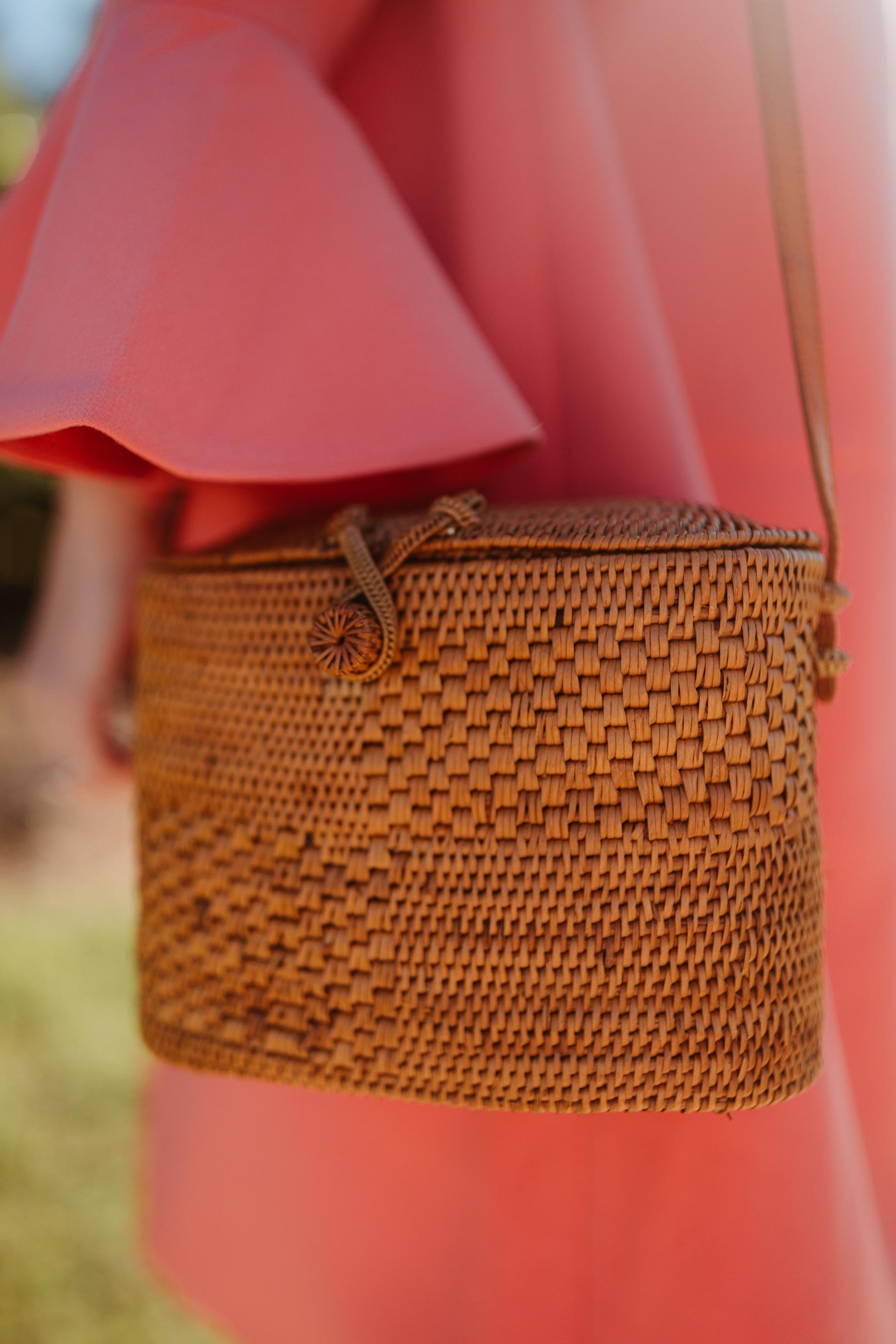 Newer Woven Crossbody Bag