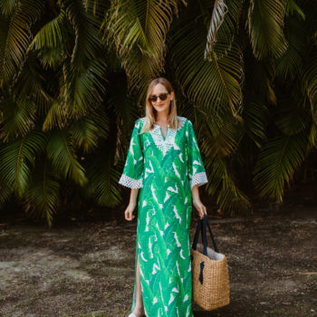 Banana Leaf Palm Dress
