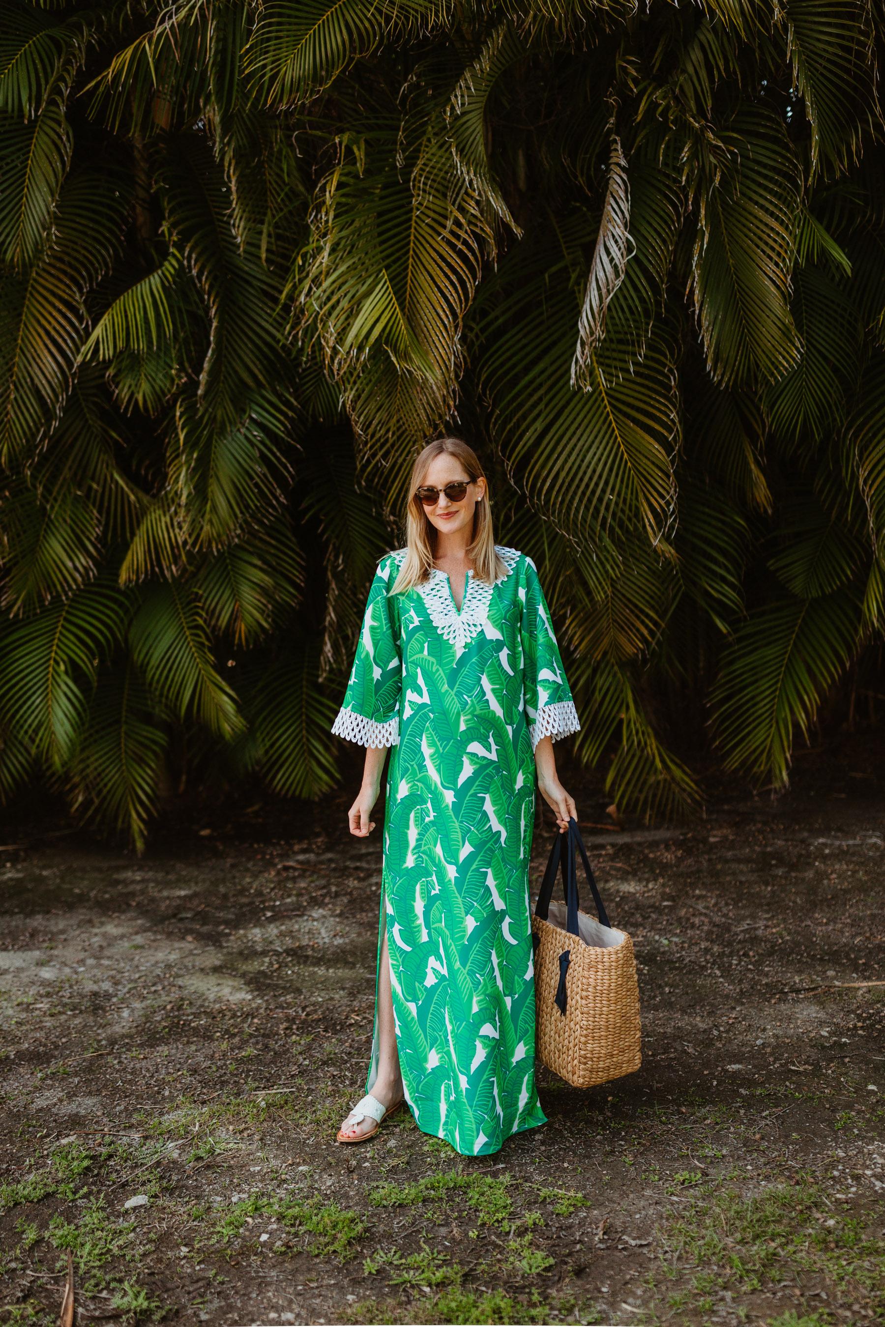 Banana Leaf Palm Dress