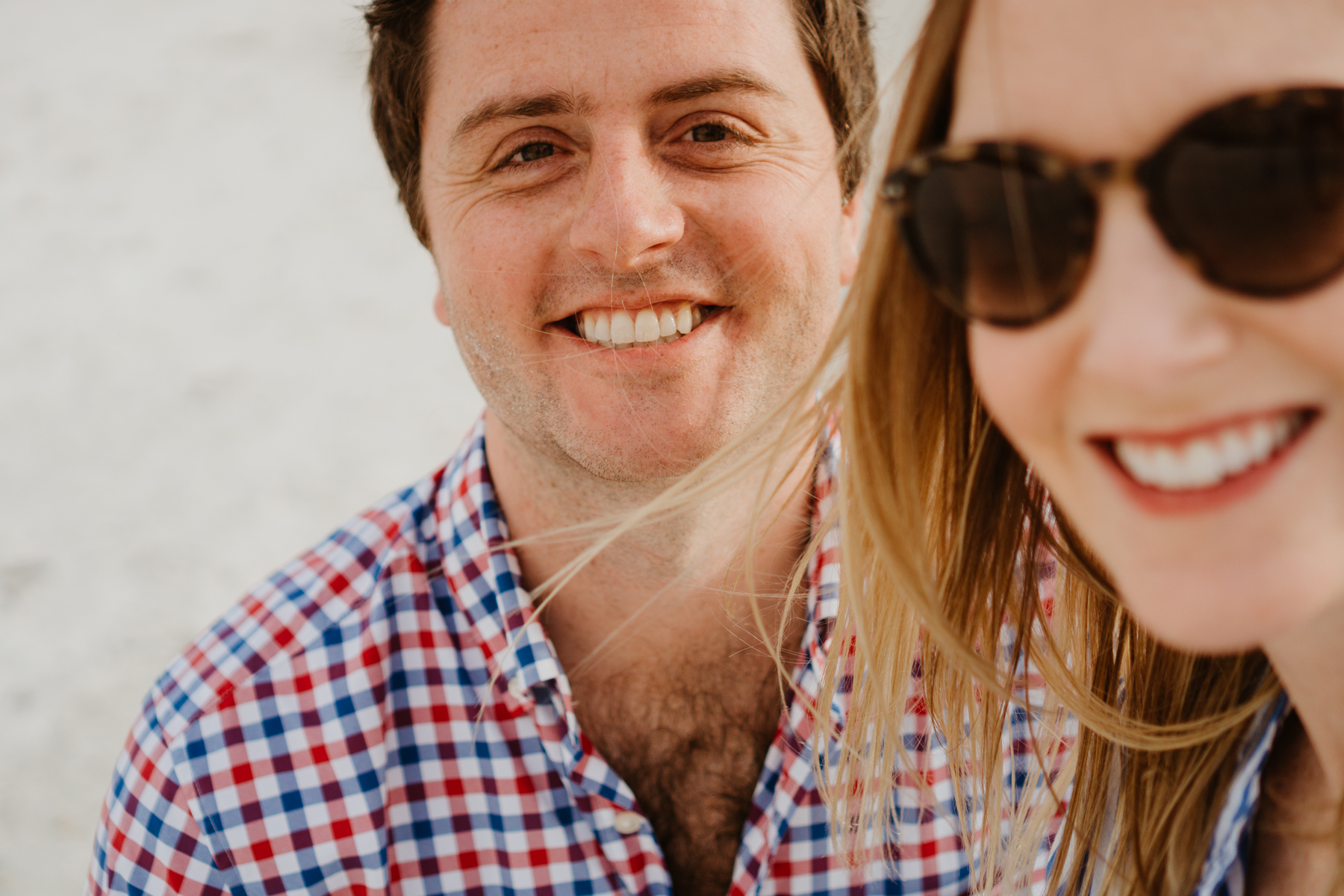 Mitch and Kelly on the first day of our trip to Marco Island!