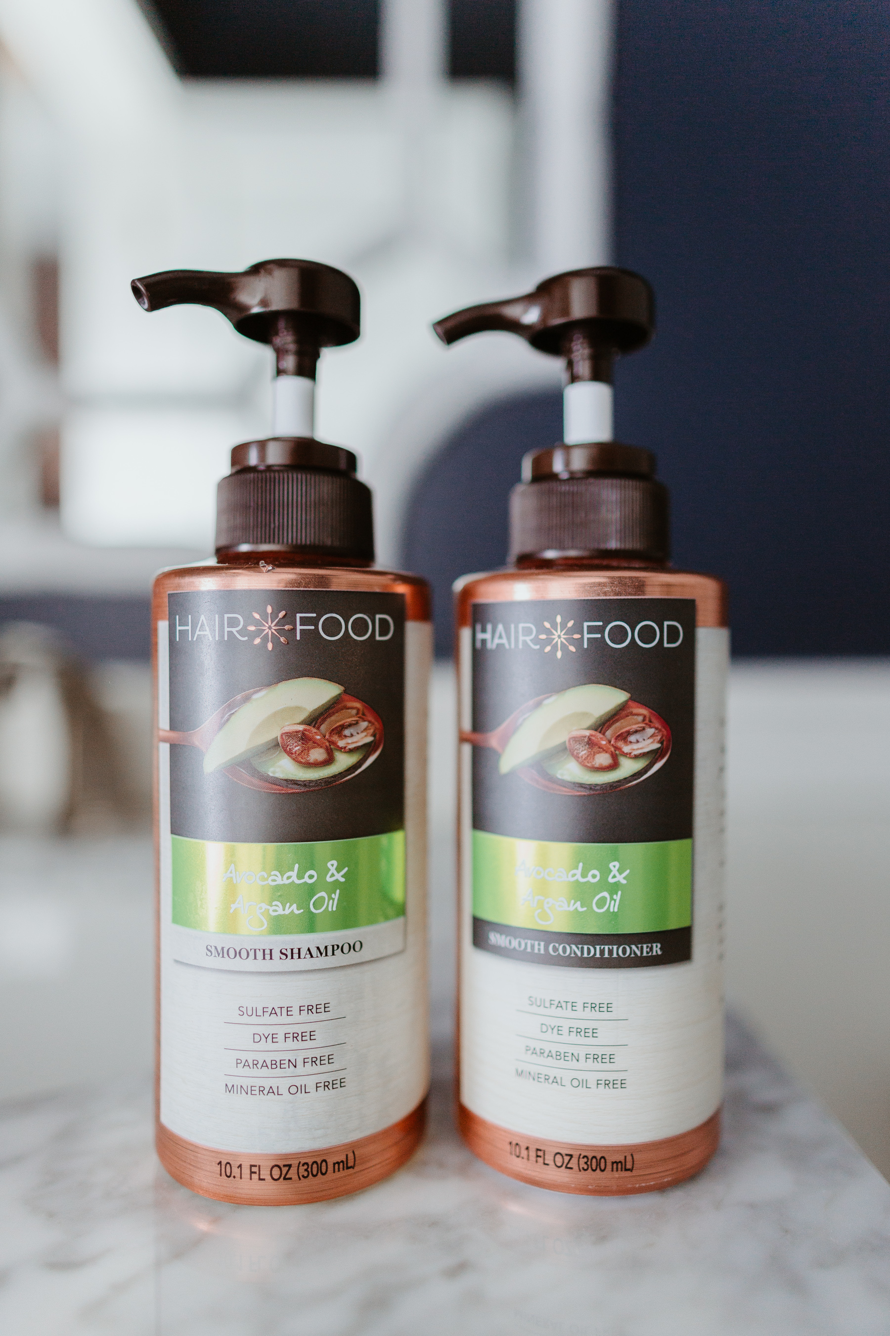 "Hair Food ""Smooth Collection"" Avocado & Argan Oil Shampoo and Conditioner"